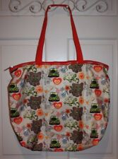 Rare Le SportSac Toons-Print Multi-Color Tote Bag