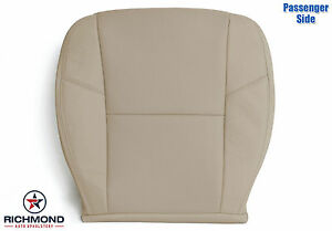 2012-2014 Chevy Silverado LTZ-Passenger Bottom PERFORATED Leather Seat Cover Tan