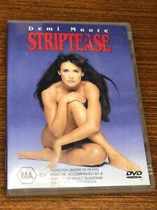 Striptease DVD Very Good Condition Region 4