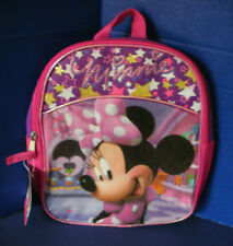 "Disney Junior~11"" Pink MININIE MOUSE BACKPACK~NWT"
