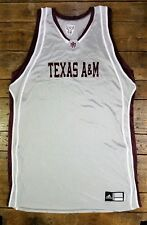 Texas A&M Adidas Basketball BLANK Unworn Game Jersey Team Issued NCAA Silver *A2