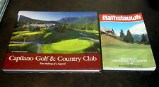 2 Books HATHSTAUWK CAPILANO GOLF COUNTRY CLUB VANCOUVER BRITISH COLUMBIA GOLFING