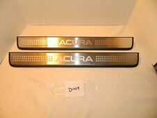 04-08 Acura TSX Two Pair Front Right & Left Scuff Plate Molding Trim OEM
