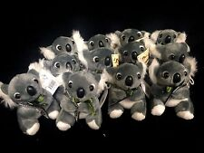 6 x Australian Souvenir Soft Koala With Boomerang 10cm Koalas Wholesale Bulk Lot