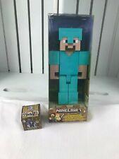 Minecraft Steve & Minecraft Mini-Figure Wood Series 10 . Lot of 2.