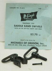 Uncle Mike's Saddle Band Swivels Fits Tubular .22 Rifles