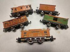 Vintage lionel electric train set.prewar.eng#253 and 4 car's. O gage.