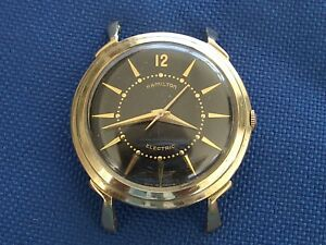 HAMILTON ELECTRIC CALIBER 500 VINTAGE MANS WRISTWATCH FOR THE WATCHMAKER!!
