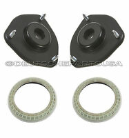 Audi Set of 2 Front Upper Left and Right Strut Mounts VW Bearings HD Quality