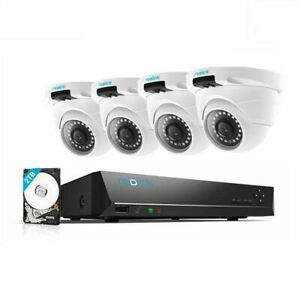 Reolink 8CH 5MP POE Security Camera System Home Surveillance Kit RLK8-420D4-5MP