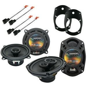 Fits Dodge Ram Truck 2500/3500 2003-2005 OEM Speaker Upgrade Harmony Speakers