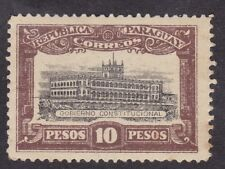 Paraguay 1922 - 10 Pesos Brown - Unissued - Mint Hinged  (C3E))