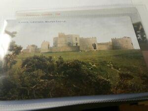 VINTAGE Photochrom Somerset Postcard - Walton Castle Clevedon