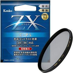 New KENKO 82mm ZX - CPL Circular Polarizer Lens Filter Kenko-Tokina