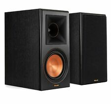 Klipsch RP-600M Ebony Vinyl (Pr) Bookshelf Speakers (Certified Refurbished)