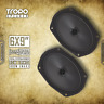"""CT Sounds Tropo 6X9"""" Inch Ultra Shallow Coaxial Car Door Coax Speakers Pair"""