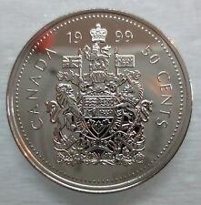1999 CANADA 50 CENTS PROOF-LIKE HALF DOLLAR COIN