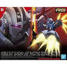 Bandai 5061027 RG 1/144 Mobile Suit Gundam Last Shooting Zeong Effect Set BRAND