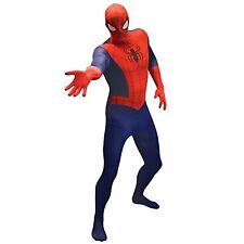 Official  Spiderman Basic Morphsuit Fancy Dress Costume - size Large - 5 4 -5 10