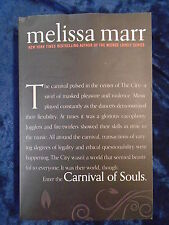 CARNIVAL OF SOULS by MELISSA MARR-HARPER COLLINS 2012 -UK POST £3.25-P/B*PROOF*