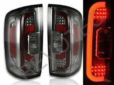 2015 2016 2017 GMC Canyon Pickup Smoke LED Tail Lights RH + LH
