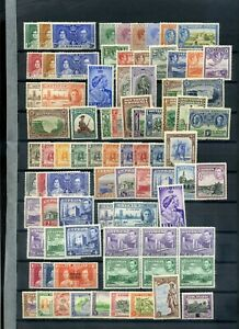 Commonwealth KGVI period MH collection 4