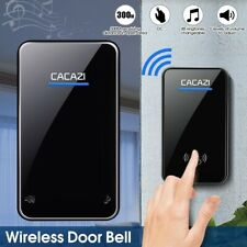 Wireless Plug In Door Bell Cordless Portable Ring Doorbell Chime Waterproof 300M