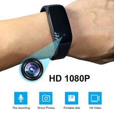 Spy Wrist Watch HD 1080P Wearable Cam Hidden Audio Video Camera Bracelet DVR
