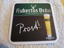 Bierdeckel Hubertus Bräu -> Privatbrauerei in Laa an der Thaya - Österreich