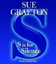 Kinsey Millhone Mystery: S Is for Silence by Sue Grafton (2005, CD, Abridged)