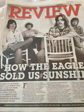 THE EAGLES Glenn Frey PHOTO UK COVER EXPRESS REVIEW JANUARY 2016