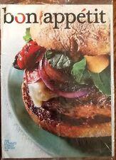 Bon Appetit SEALED August 2009 back issue vintage recipes Cooking turkey burger