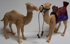 PLAYMOBIL CAMEL LOT OF 2 REPLACEMENT ITEMS FOR PLAYMOBIL EGYPTIAN PLAYSET