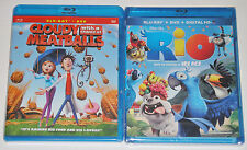 Cloudy With a Chance of Meatballs Blu-ray DVD