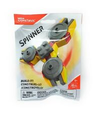 MEGA CONSTRUX YELLOW SPINNER FVX45 46 Pcs New and Sealed