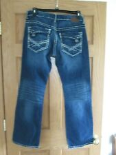 BKE jeans CARTER Size 32R 32 X 32 Thick stitch