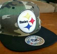 Pittsburg Steelers Snapback Hat Structured Camo Pittsburgh Steelers Ball Cap