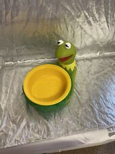 Kermit Character Bowl New Applause Sesame Street