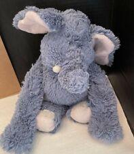 """Ganz Hug A Longs Elephant Gray Stuffed Plush Grey 16"""" Blue"""