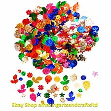15g Sequins Craft Sewing Colours Embellishments
