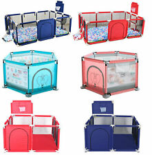 Indoor Outdoor Baby Safety Play Yard Kid Activity Center Toddler Folding Playpen
