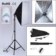 Boite Lumière Softbox pour Flash Studio Photo Video Kit studio 135W Trépied Set