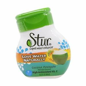 STUR Coconut Water Pineapple Drink Mix, 1.62oz