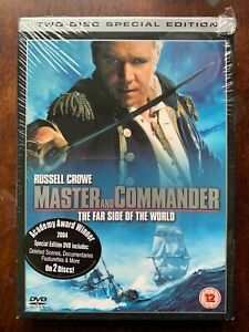 Master and Commander DVD 2003 Seafarer Action Epic Movie w/ Slipcover BNIB