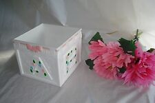 Pink ABC Block Centerpiece or Favor for Baby Shower Decorations