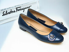 SALVATORE FERRAGAMO Schuhe Designer Damenschuhe Pemba 1cm US 6 EU 36 NEU