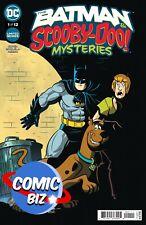 BATMAN & SCOOBY DOO MYSTERIES #1 (2021) 1ST PRINTING MAIN COVER DC COMICS