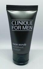 Clinique For Men Face Scrub 30ml Exfoliator travel size NEW