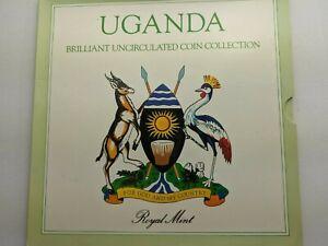 1987 Uganda Brilliant uncirculated coin set