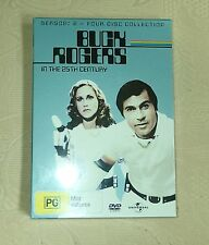 Buck Rogers in the 25th Century S2 Sealed Rare Cult R4 4D DVD Gil Gerard Sci Fi